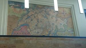 carte suisse romande , confederation helvetique