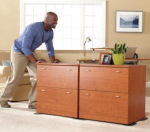 Déménager avec des meubles