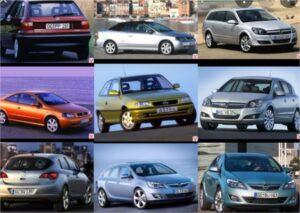 Histoire de l'Opel Astra